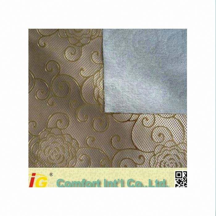 new design yiwu pvc synthetic leather for decoration and bags