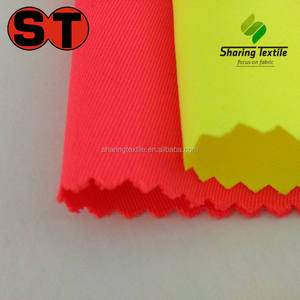 Wholesale Polyester En471 High Visible Fabric/Poly EN471 Fluorescent Fabric/Poly En471 Reflective Fabric