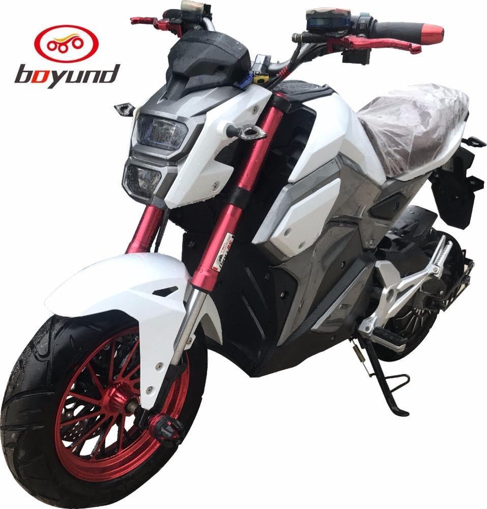 2018 Outdoor 2000W High Power Electric Motorcycle 50cc