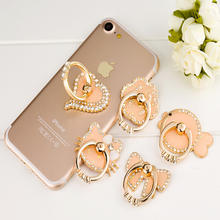 Cute various bling bling mobile phone ring holder,phone ring stand