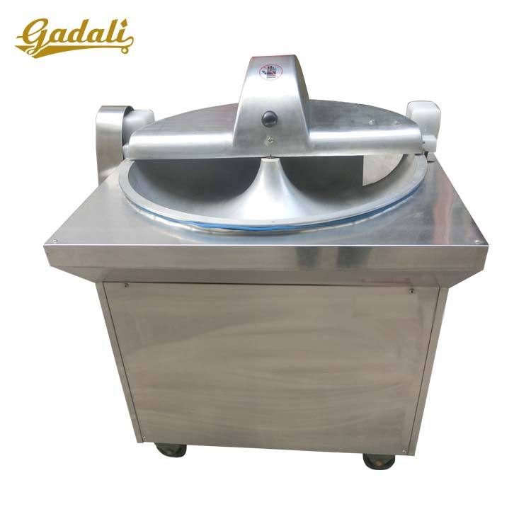 Commercial meat bowl chopper/meat bowl cutter/meat chopping mixing machine