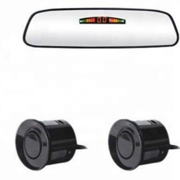 CARRO espelho retrovisor display LED sensor de estacionamento