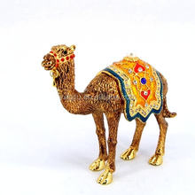 Home decoration wholesale camel art and craft gift box souvenir(QF3709)