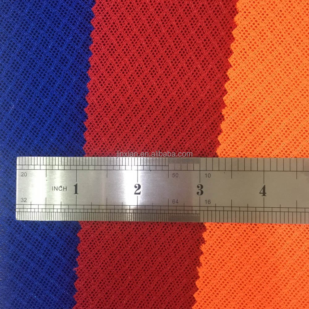 sport shoes stocks knit mesh fabric for upper ,running shoes cloth air mesh 3D textile cheap price for chairs toy new designs