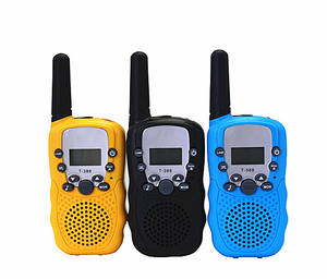Walkie Talkie Transreceiver Sepeda, Set Radio, Peralatan Militer Walkie Talkie Anak