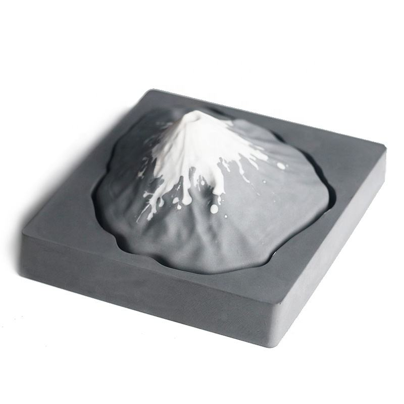 Fuji Mountain Shaped Home Car Decoration Ceramic Essential Oil Aroma Diffuser Air Freshener