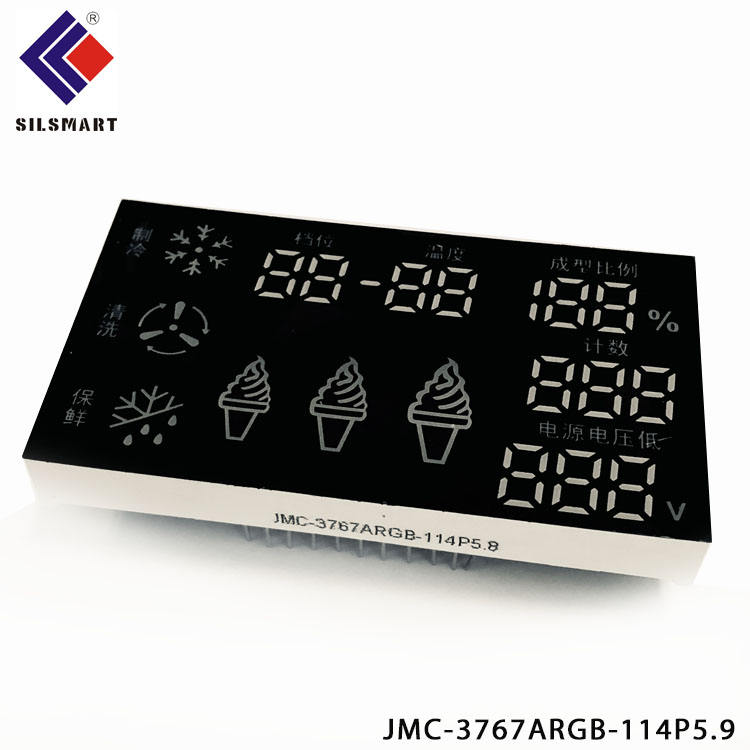 "Godrelish 2.3/"" LED Industrial Production//Status Display Board Led counter 4lines"