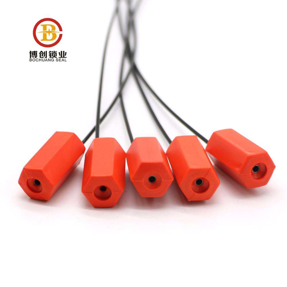 1 Time Use Cable Seal Manufacturing BC-C108 High Security Container Oil Company Used Security Cable Seal 1 Time Use