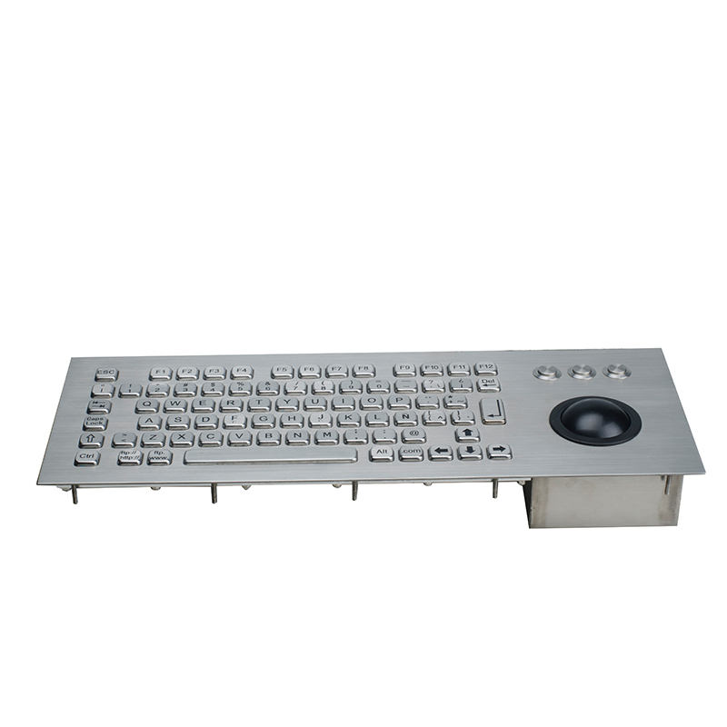 Standard wired <span class=keywords><strong>industrie</strong></span> tastatur mit mechanische <span class=keywords><strong>trackball</strong></span>