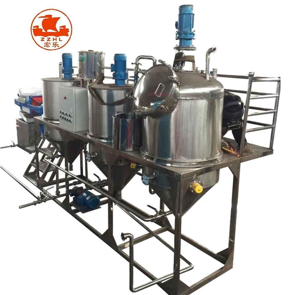 High Capacity Soya Bean Soyabean Canola Corn Oil Refined Refined Rapeseed Rice Bran Oil For Factory