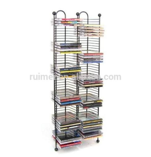 Multi tier cd rack