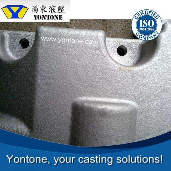 Yontone YT817 ISO9001 мельница с высокой добавленной стоимостью 6061 T6 термообработки выплавляемым алюминиевого литья поставщики