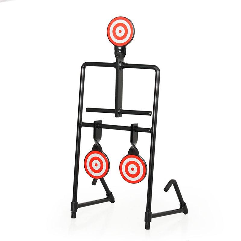 Indoor game steel shooting target practice airgun rifle shooting target