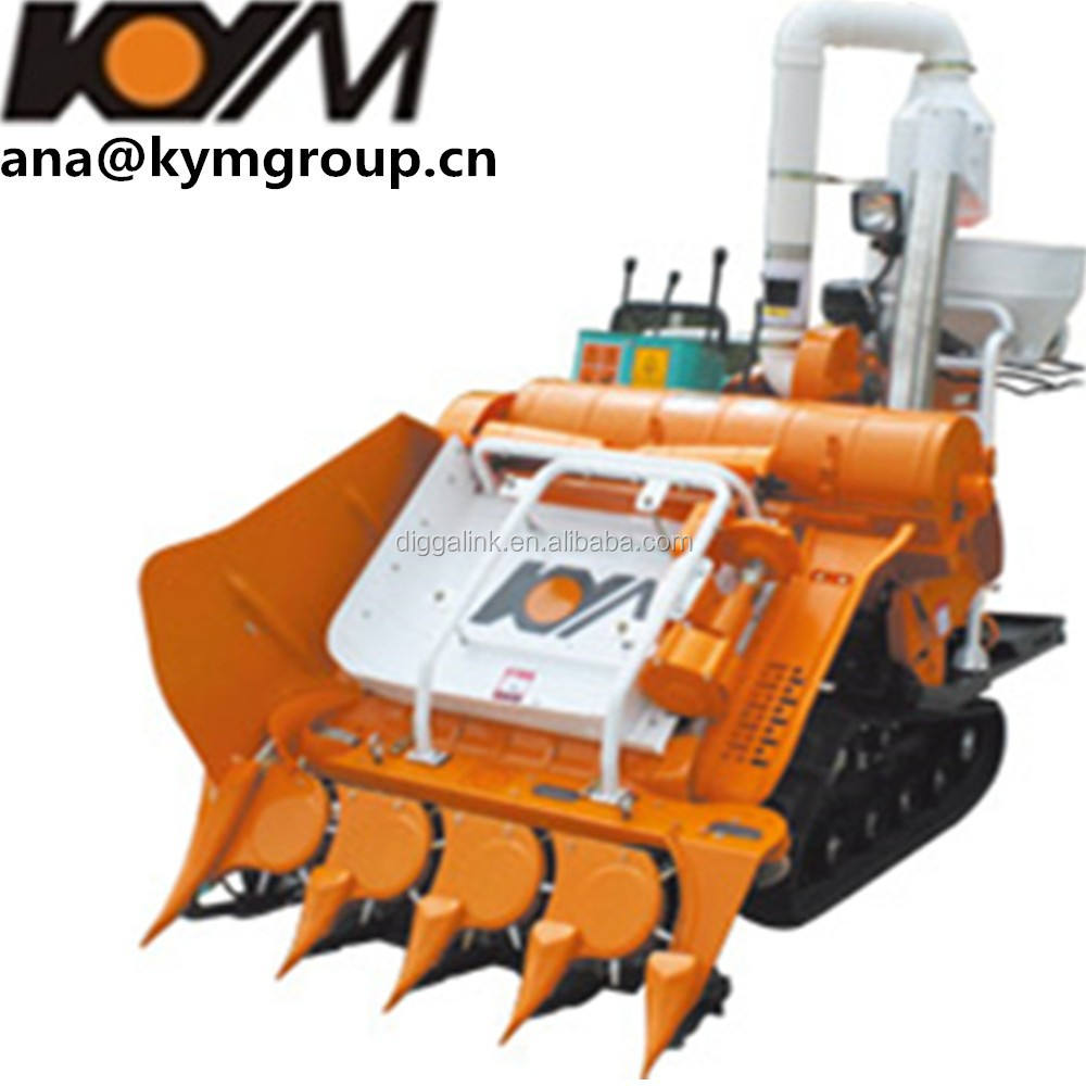 Guangxi KYM Group China Machine Exported To Iran Combine Harvester