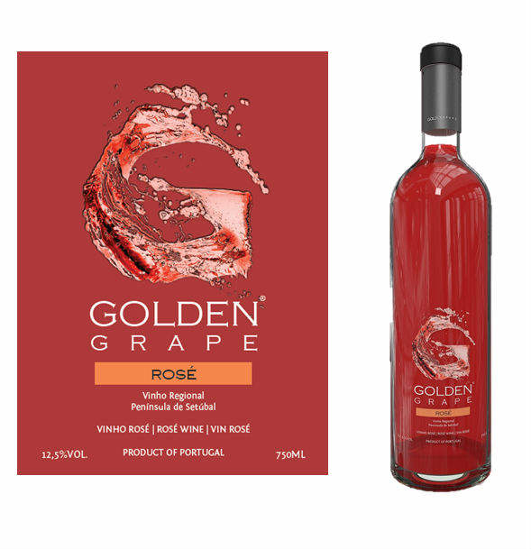 GOLDEN GRAPE Rose Wine