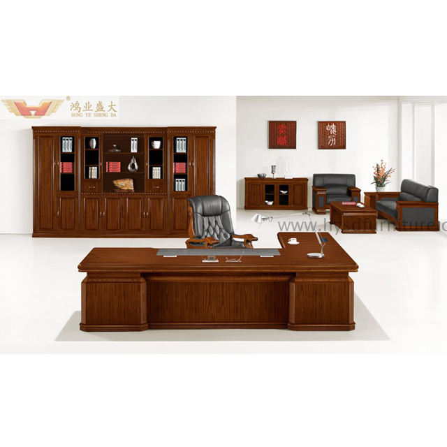 Top quality Wooden office furniture antique executive desk