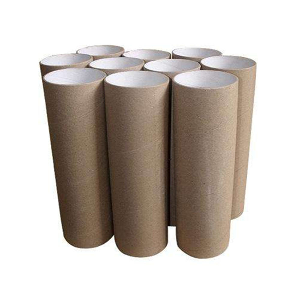 Biodegradable textile spinning paper cone and tube