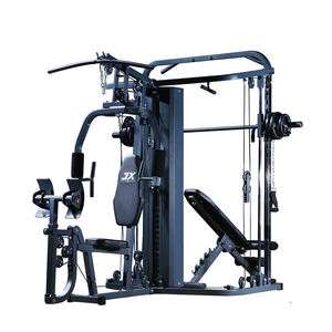 Junxia Luxe Muti Functionele Home Gym Met Power Rack, multifunctionele Multifunctionele Home Gym Gimnasio En Casa