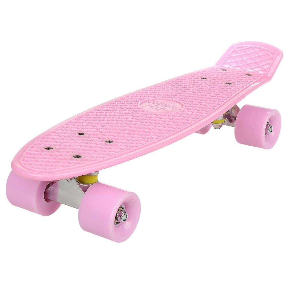 2018 best sale cheap ningbo china kids boy Complete 22 Inch Mini Cruiser Retro one wheel skateboard