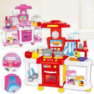 educational pretend play toy cooking set kitchen toy for kids