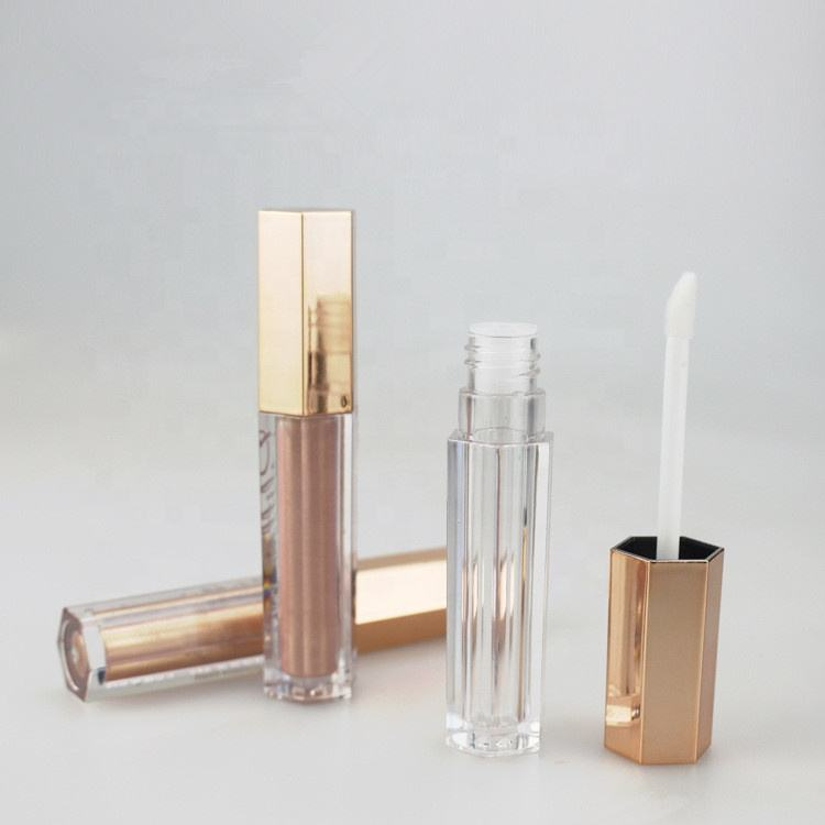 2020 Wholesale price best quality hexagon lip gloss tube