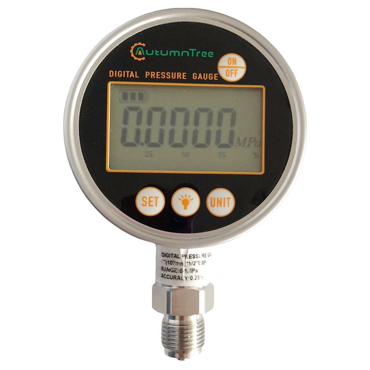 SS316/SS316L Stainless Steel Digital Air Pressure Gauge Manometer