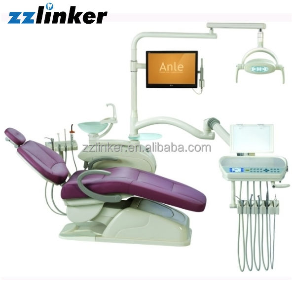 AL-398HF CE Approved Computer Controlled hydraulic Integral Dental Unit