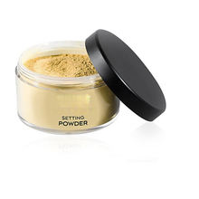 Private label make up foundation BUTTER POWDER loose face setting  powder for Medium to Deep skin tones 1.25 oz