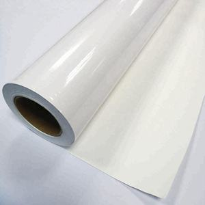 FLY printable self adhesive vinyl film rolls, vinyl sticker material, car full body wrap vinyl adhesive rolls wholesale