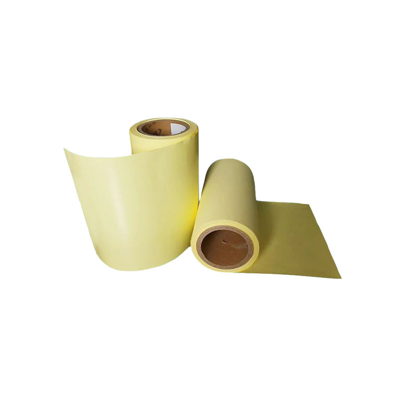 One side Silicone Coated Yellow Kraft Wrapping Paper For Stickers
