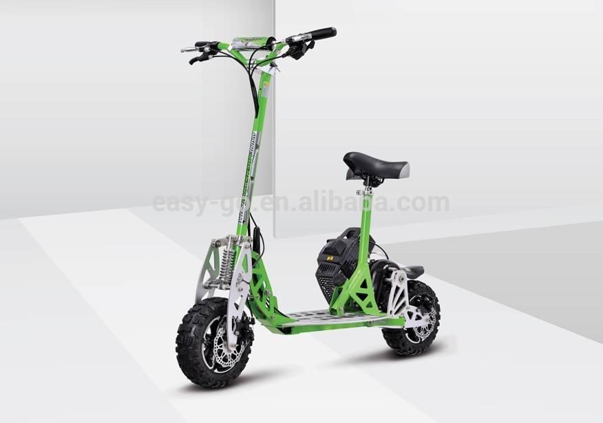 Uberscoot 2 ruedas foldling evo <span class=keywords><strong>49cc</strong></span> trike <span class=keywords><strong>gas</strong></span> scooter con el certificado del CE caliente en venta