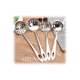 Stainless Steel Kitchen Utensils Cooking Tools/Soup Ladle Slotted Ladle Soup Spoon Kitchen Appliances
