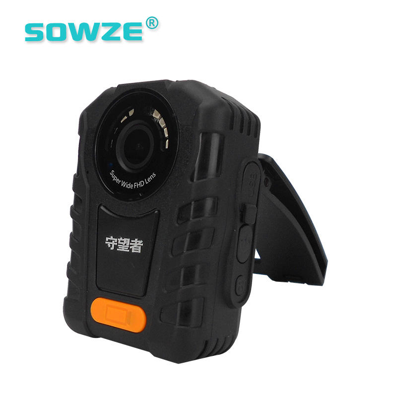 HD 1296P Waterproof Anti-shock Portable Body Worn Camera for Police Officer and Guard
