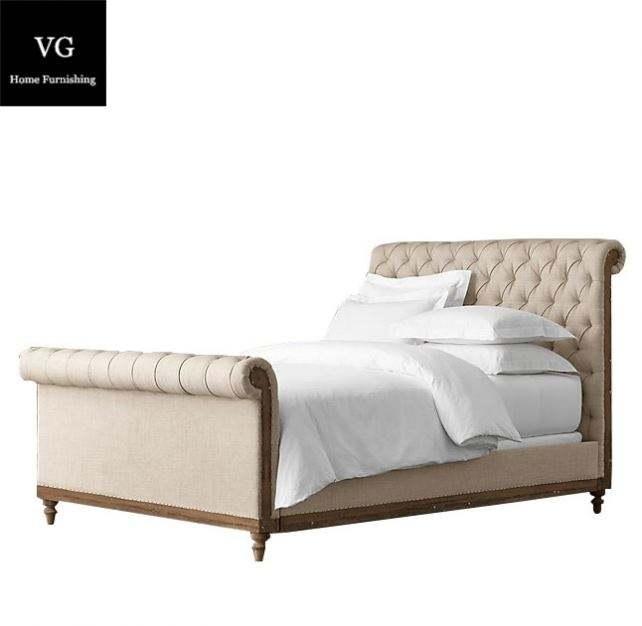 <span class=keywords><strong>Antique</strong></span> reproduction récupérer meubles de maison en bois français lit rembourré