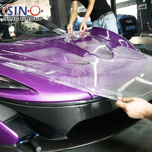 3 Years Warranty Gloss Self Adhesive Wrap Vehicle Auto-repaired Anti Scratch Car Body Clear Paint Protection TPU TPH PPF Film