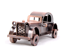 Car's History Novelty classical antique Iron metal car model