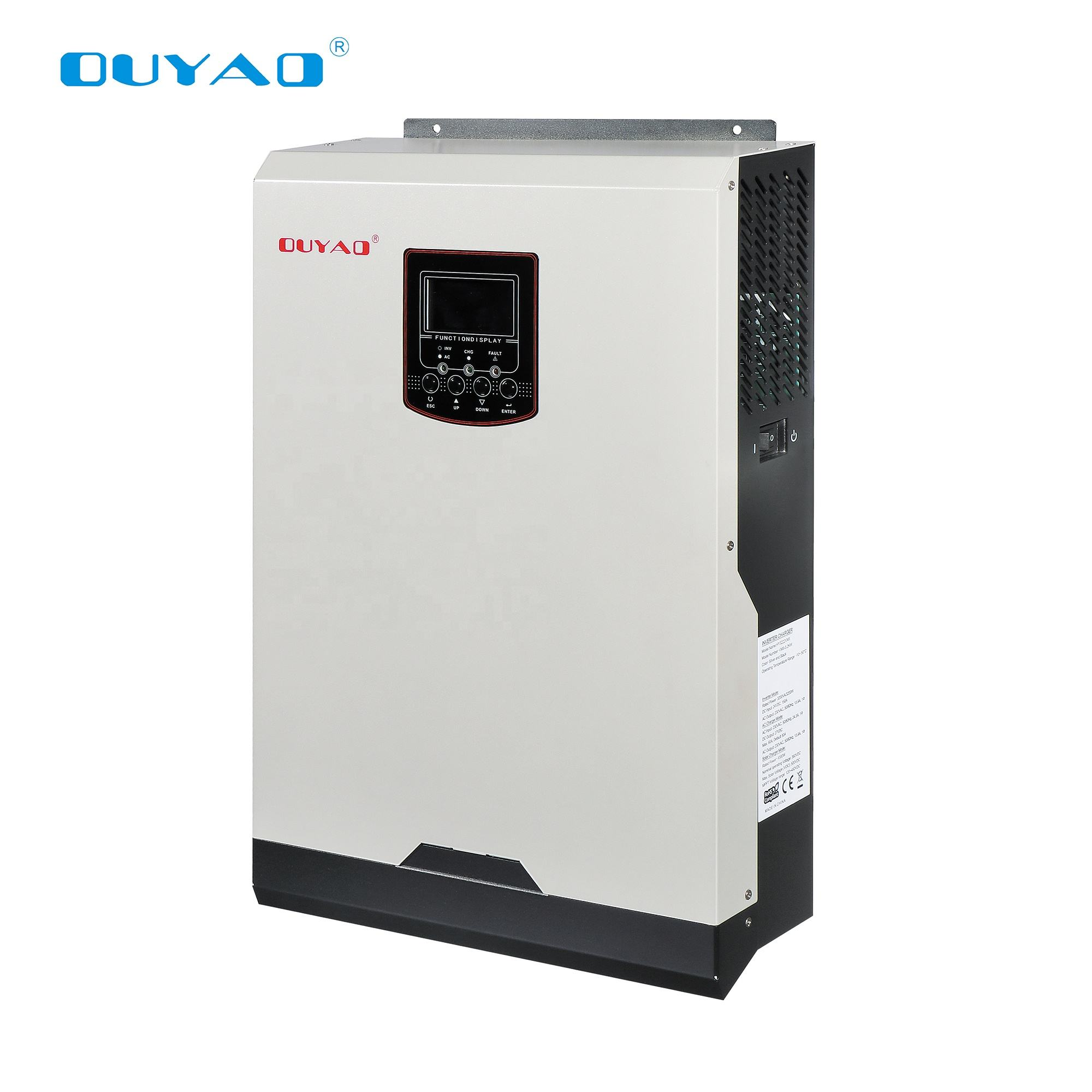 VMII 3.2kw hybrid solar inverter with built-in charge controller can work WITHOUT battery