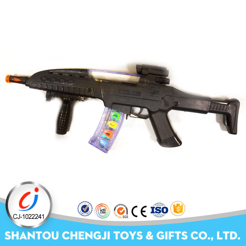 Newest kids plastic electric gun import toys directly from china