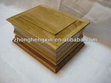 Wooden funeral ash box