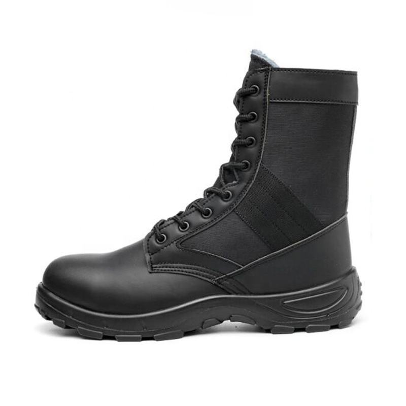 겨울 Military Army 찰 임원을 망 Black training boots Working Sport genuine Leather Tactical 전투 Safety Boots SN238