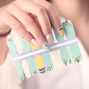 Nail Wrap Patch Self Adhesive nail art stickers