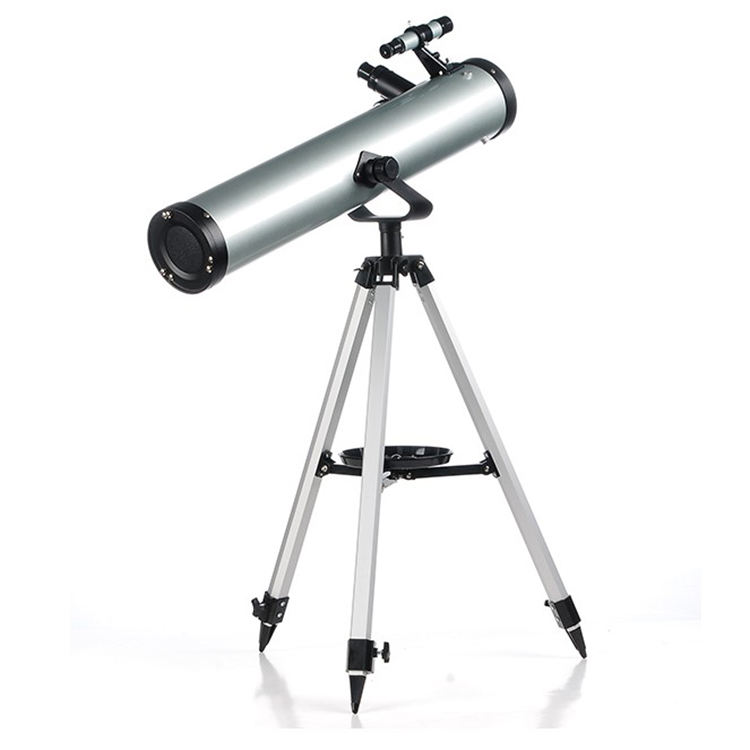 Astronomische Telescoop 76700 Scope Voor Beginners-Reflactor Travel Scope 76 Mm Diafragma 700 Mm Brandpuntsafstand