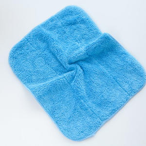 soft custom wash drying plush towel cleaning microfiber towel for car