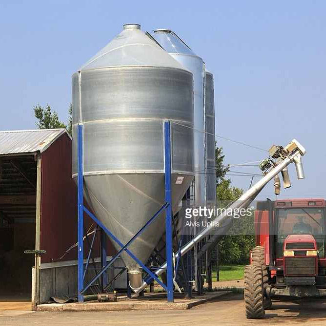 Easy Disassemble Field Corn Seed Steel Grain Storage Silo 50 Tons
