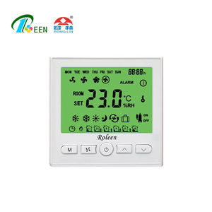 Modulating HAVC House 0-10v Output FCU Thermostat Control