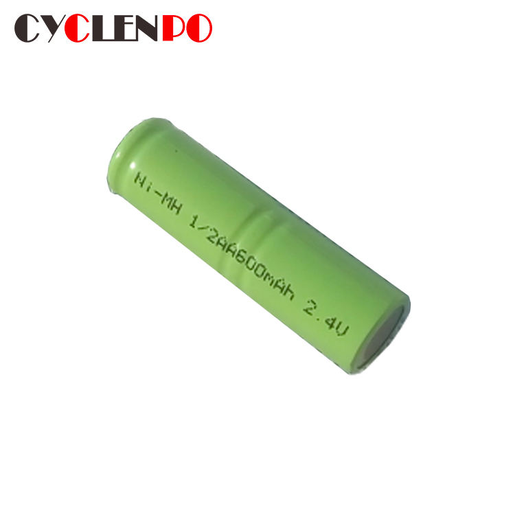 Cheap and high quality battery nimh 2.4v 600mah