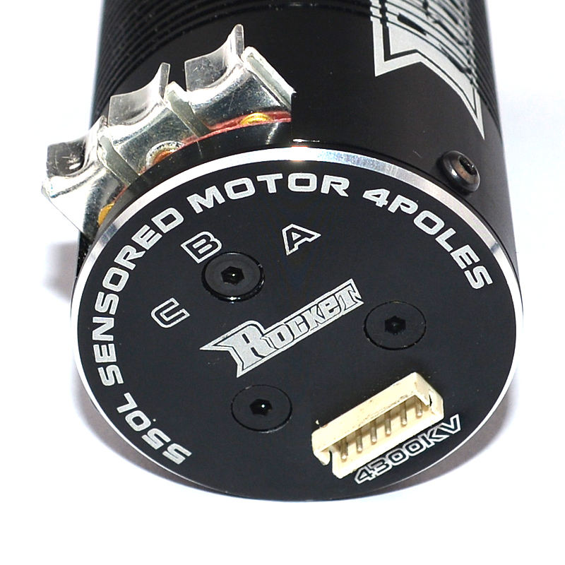Rocket 550 sensored Brushless Motor for HSP HPI Wltoys Kyosho TRAXXAS RC Car