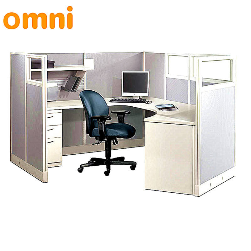 Manufacturer Latest design Modular Office Furniture 1/2/3/4/5/6 person Office Workstation Cubicle Partition Desk