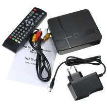 JUNUO  STB Factory Free to Air HD Digital Set Top Box dvb t2 TV tuner t2 decoder for Spain Czech
