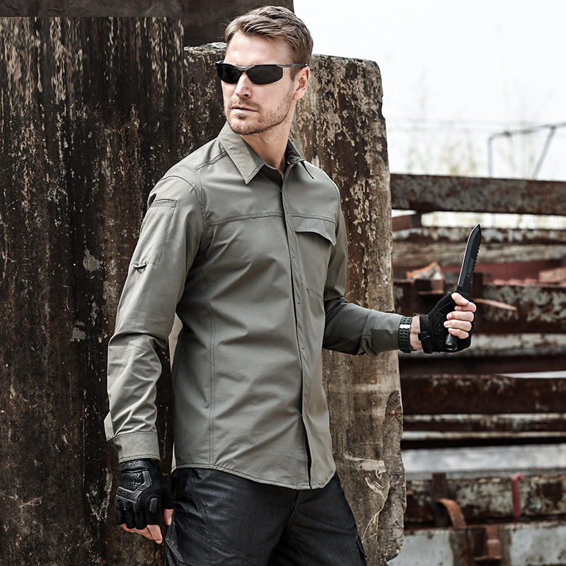 Eagle Claw Action Tactical shirt male summer outdoor shirts wear-resistant breathable training Army military tactical shirt